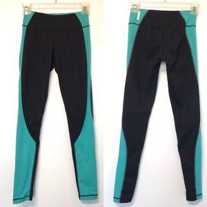 Zella full length mid rise legging tights black